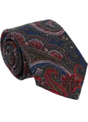 Willen Krawatte Paisley Wolle 7,5cm