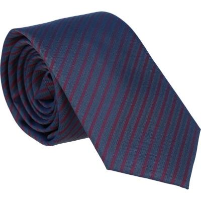 Willen Krawatte Marine Streifen 6,0cm