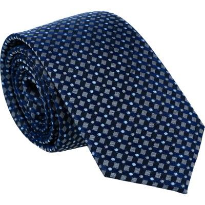 Willen Krawatte Kleinmuster Gitter 6,0cm