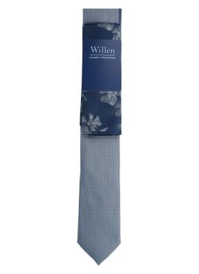 Willen Set Set Krawatte Uni Struktur/ Tuch Dark Floral One Size