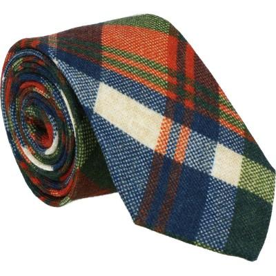 Willen Krawatte Multicolor Karo