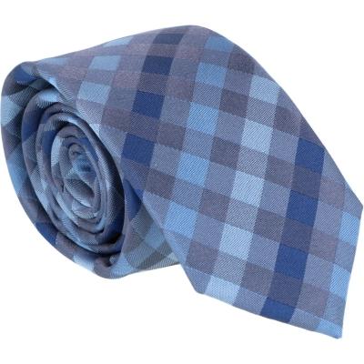 Willen Krawatte Grau Karo 6,0cm