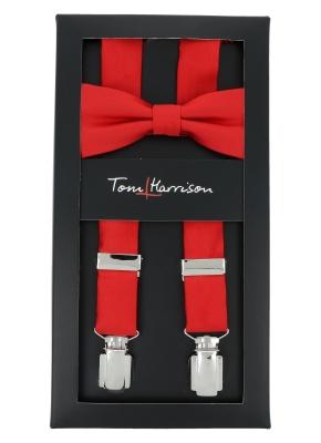 Tom Harrison Set Hosenträger und Schleife Uni One Size