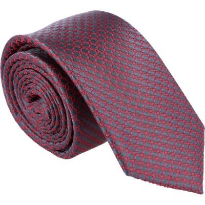 Willen Krawatte Grau Minimal