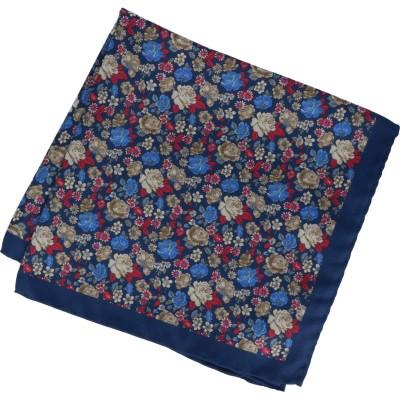 Willen Einstecktuch florales Muster 34,2cmx34,2cm