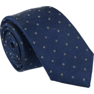 Willen Krawatte Tupfenmuster 6,5cm