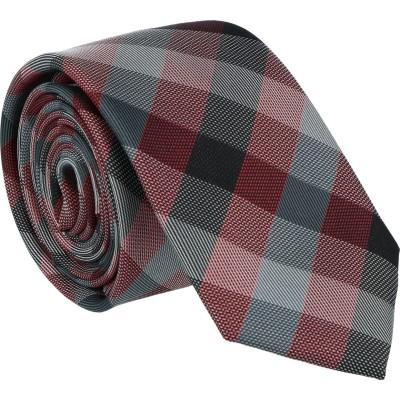 Willen Krawatte Grau Karo