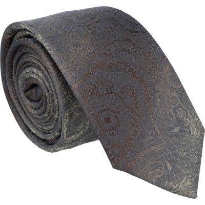 Tom Harrison Krawatte Paisley mit Farbablauf 6,0cm