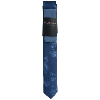 Tom Harrison Set Krawatte Floral /Tuch Struktur One Size