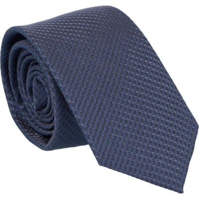 Willen Krawatte Grau Kleinmuster 6,0cm