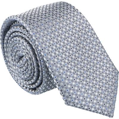 Willen Krawatte Kleinmuster 3D 6,0cm