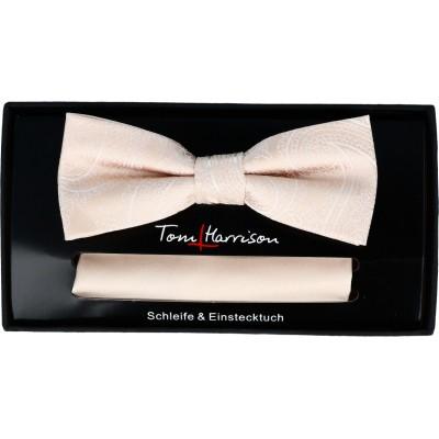 Tom Harrison Set Schleife Paisley/ Tuch Uni One Size