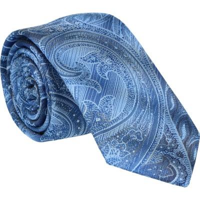 Willen Krawatte Paisley auf Farbablauf 6,0 cm