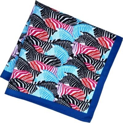 Willen Einstecktuch Druck Design Zebras 30cmx30xm