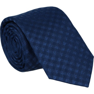 Willen Krawatte Marine Karo 6,0cm